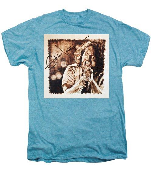 Eddie Vedder Men's Premium T-Shirt by Lance Gebhardt