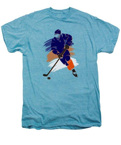 Edmonton Oilers Player Shirt Men's Premium T-Shirt by Joe Hamilton