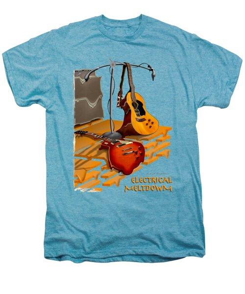 Electrical Meltdown Se Men's Premium T-Shirt by Mike McGlothlen