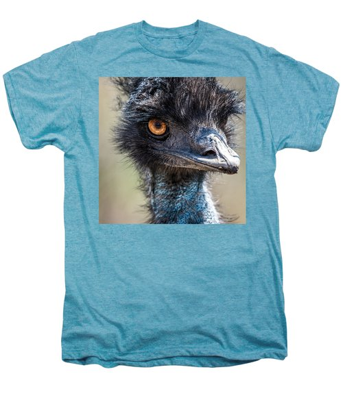 Emu Eyes Men's Premium T-Shirt by Paul Freidlund