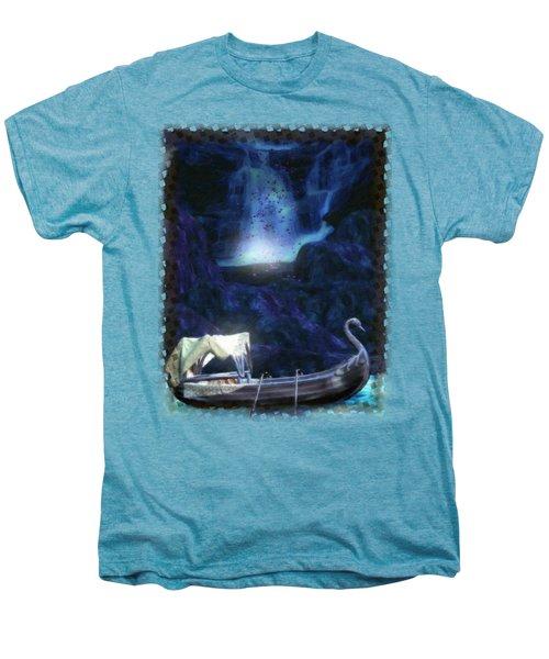 Faerie Cavern  Men's Premium T-Shirt by Sharon and Renee Lozen