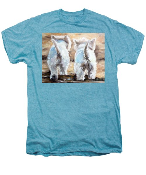 Farewell Men's Premium T-Shirt by Mary Sparrow