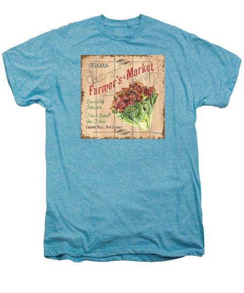 Farmer's Market Sign Men's Premium T-Shirt by Debbie DeWitt
