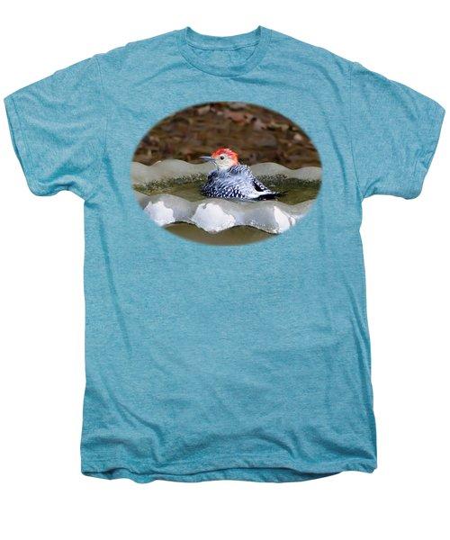 First Bath Men's Premium T-Shirt by Sue Melvin