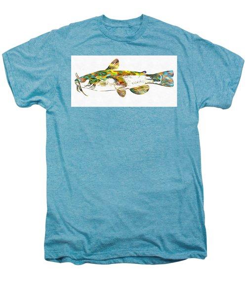 Fish Art Catfish Men's Premium T-Shirt by Dan Sproul