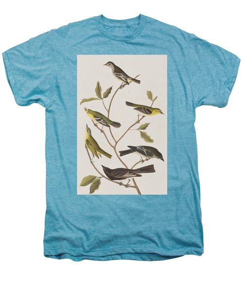 Fly Catchers Men's Premium T-Shirt by John James Audubon