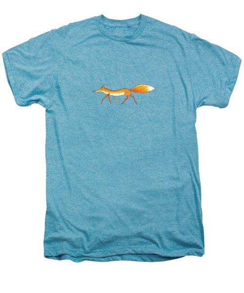 Fox  Men's Premium T-Shirt by Andrew Hitchen