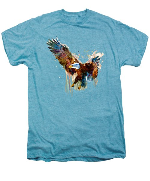 Free And Deadly Eagle Men's Premium T-Shirt by Marian Voicu