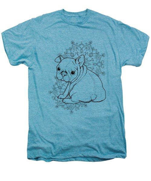 French Bulldog Puppy Men's Premium T-Shirt by Cindy Elsharouni