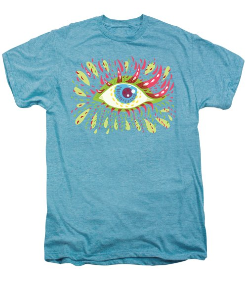 From Looking Psychedelic Eye Men's Premium T-Shirt by Boriana Giormova