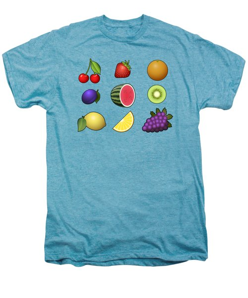 Fruits Collection Men's Premium T-Shirt by Miroslav Nemecek