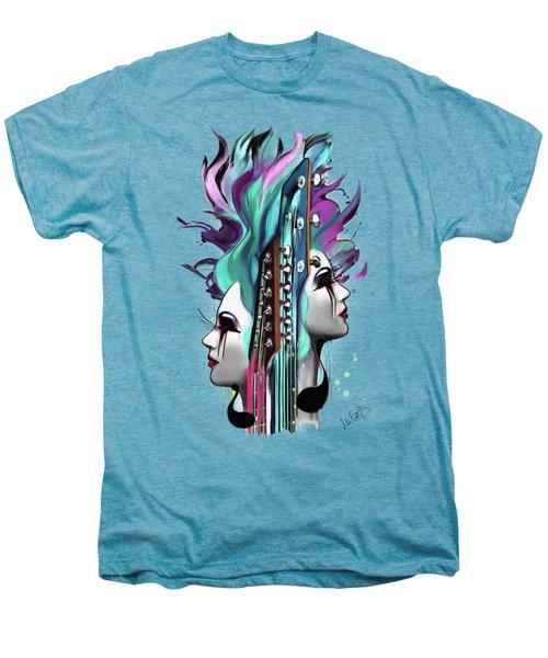 Gemini Men's Premium T-Shirt by Melanie D