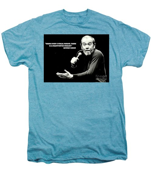 George Carlin Art  Men's Premium T-Shirt by Pd