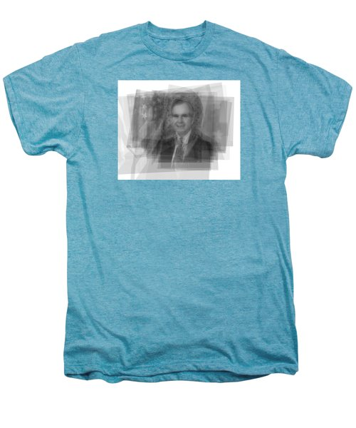 George H. W. Bush Men's Premium T-Shirt by Steve Socha