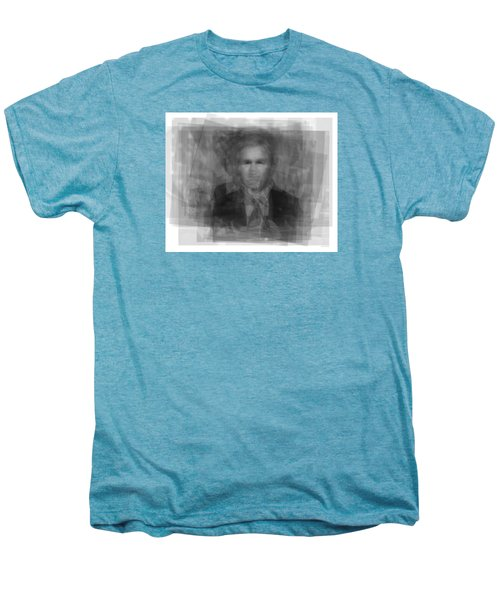 George W. Bush Men's Premium T-Shirt by Steve Socha