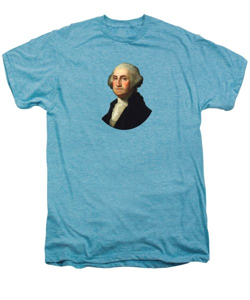 George Washington - Rembrandt Peale Men's Premium T-Shirt by War Is Hell Store