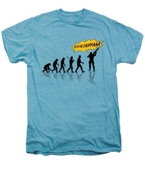 Get To The Choppa Men's Premium T-Shirt by Filippo B