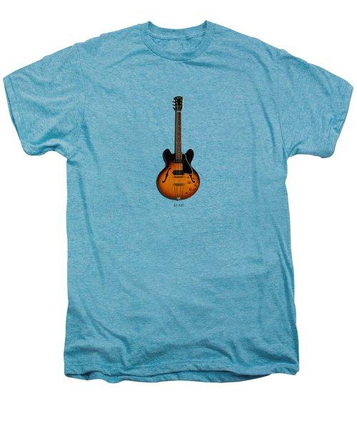 Gibson Semi Hollow Es330 Men's Premium T-Shirt by Mark Rogan