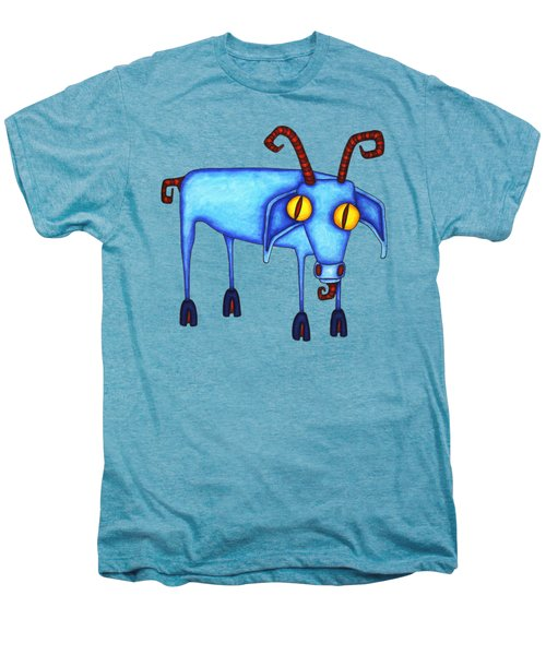 Goat Men's Premium T-Shirt by Joan Krygsman