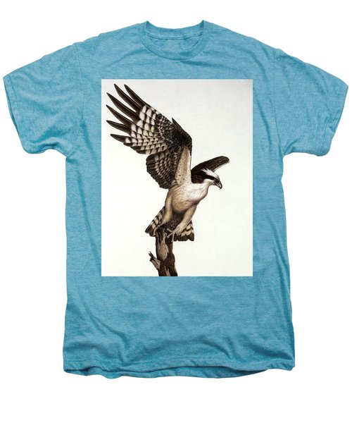 Going Fishin' Osprey Men's Premium T-Shirt by Pat Erickson