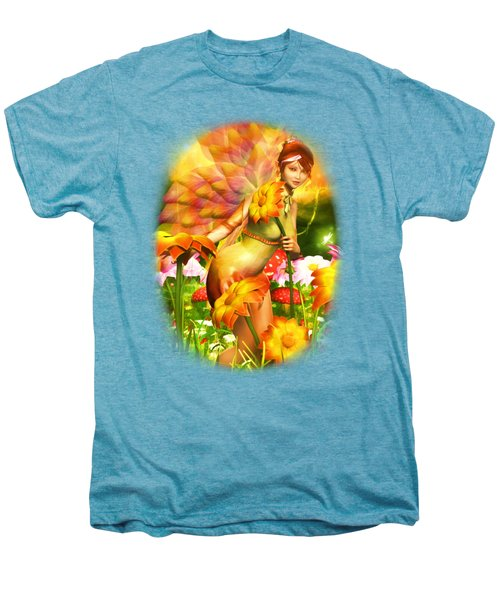 Golden Adornments Men's Premium T-Shirt by Brandy Thomas