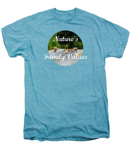 Goose Family Men's Premium T-Shirt by Anita Faye