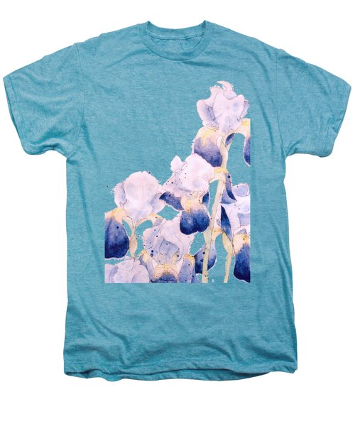 Graceful Iris Men's Premium T-Shirt by Gail Maguire