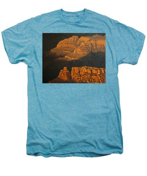 Grand Canyon Meditation Men's Premium T-Shirt by Jim Thomas