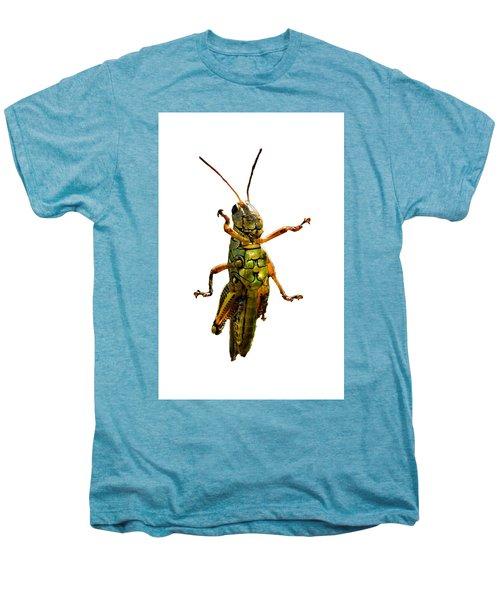 Grasshopper II Men's Premium T-Shirt by Gary Adkins