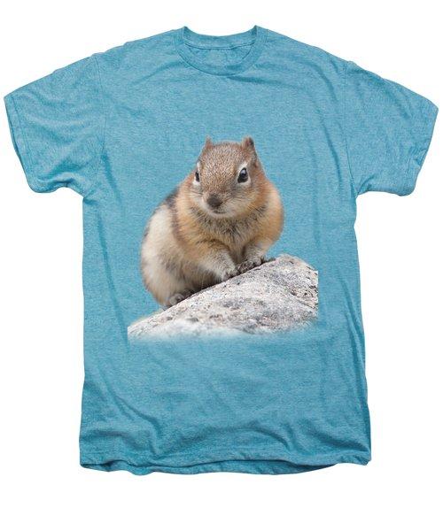Ground Squirrel T-shirt Men's Premium T-Shirt by Tony Mills