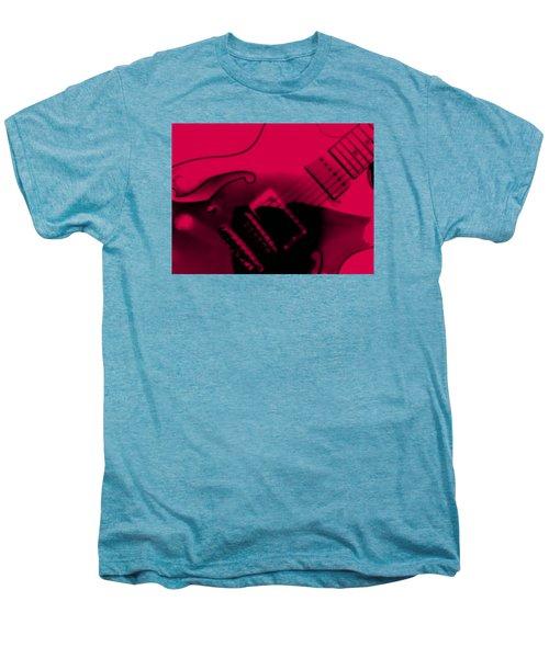 Guitar Watermelon Men's Premium T-Shirt by Darin Baker