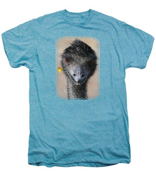 Happy Emu Men's Premium T-Shirt by Ivana Westin