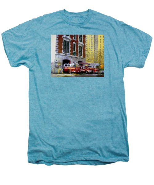 Harlem Hilton Men's Premium T-Shirt by Paul Walsh
