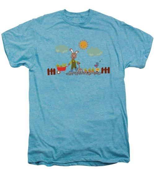 Harvest Time Men's Premium T-Shirt by Kathrin Legg