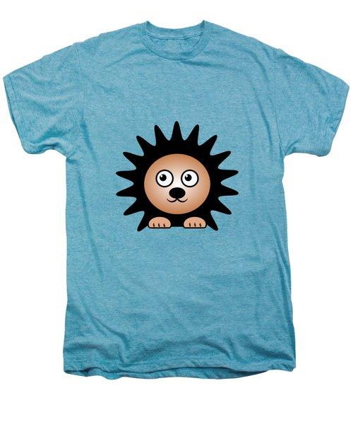 Hedgehog - Animals - Art For Kids Men's Premium T-Shirt by Anastasiya Malakhova
