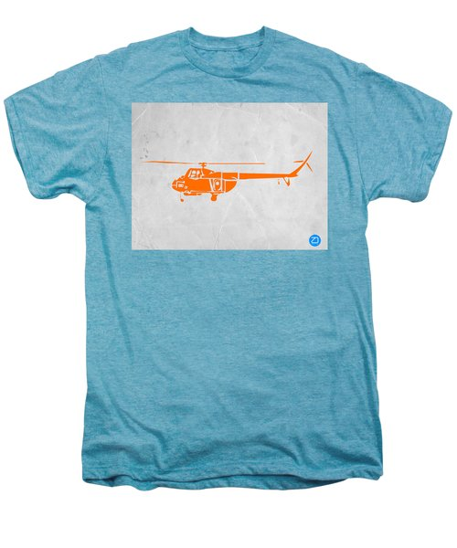 Helicopter Men's Premium T-Shirt by Naxart Studio