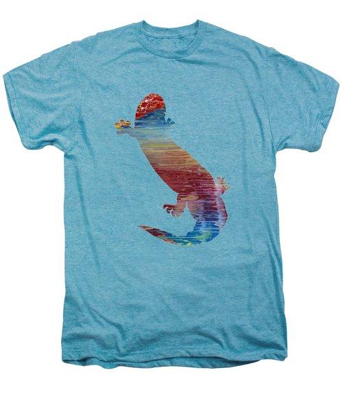 Hellbender Salamander Men's Premium T-Shirt by Mordax Furittus