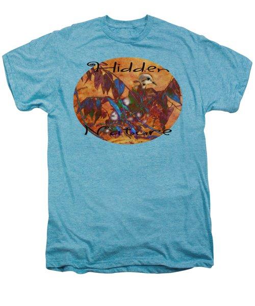 Hidden Nature - Abstract Men's Premium T-Shirt by Anita Faye