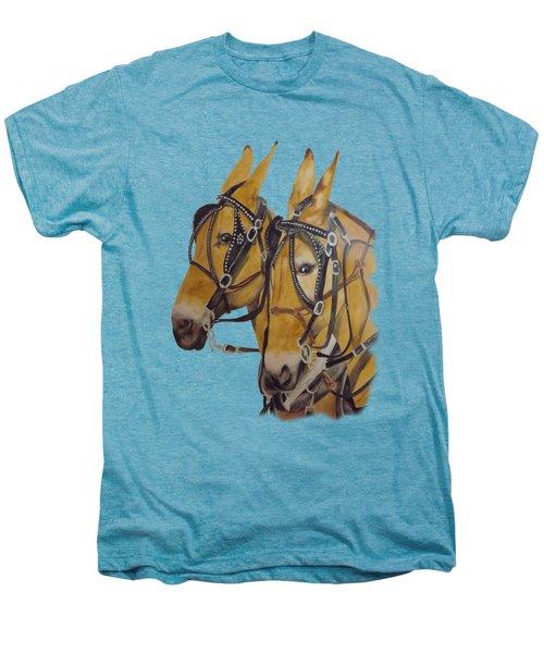 Hitched #2 Men's Premium T-Shirt by Gary Thomas