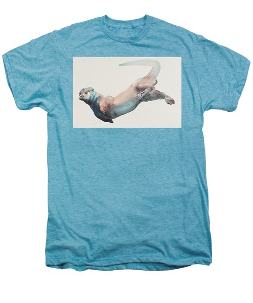 Hunting In The Deep Men's Premium T-Shirt by Mark Adlington