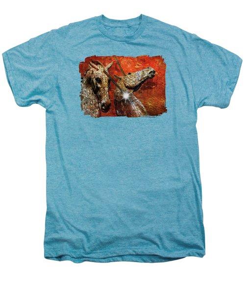 I Believe Men's Premium T-Shirt by Terry Fleckney