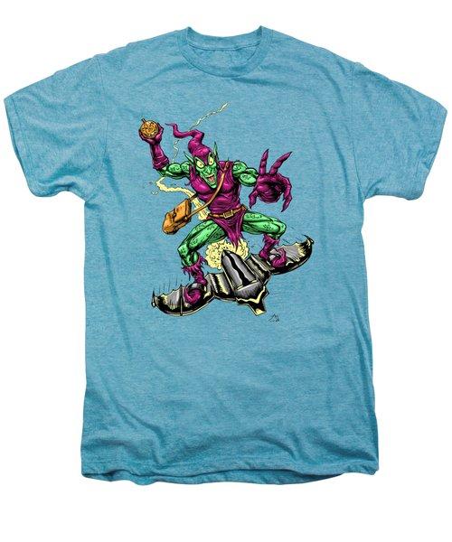 In Green Pursuit Men's Premium T-Shirt by John Ashton Golden