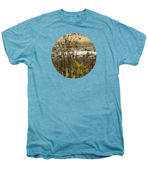 In The Golden Light Men's Premium T-Shirt by Mary Wolf