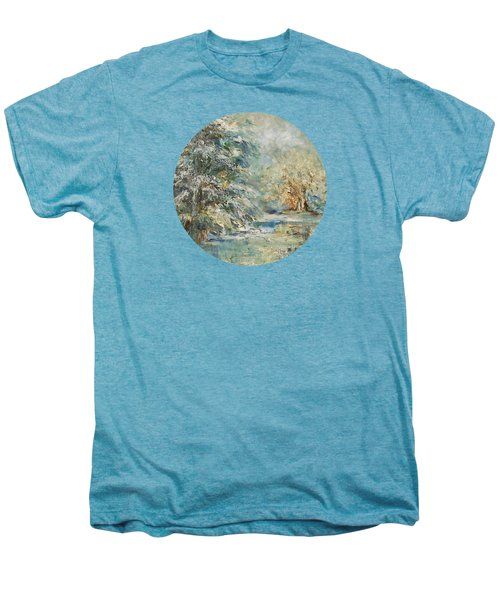 In The Snowy Silence Men's Premium T-Shirt by Mary Wolf