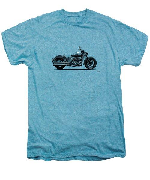 Indian Scout 2015 Men's Premium T-Shirt by Mark Rogan