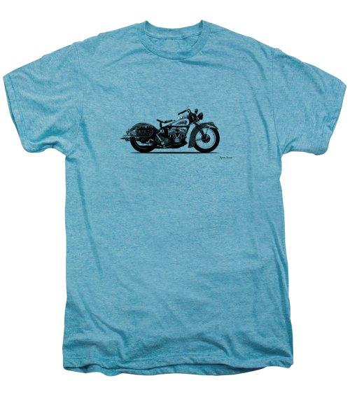 Indian Sport Scout 1939  Men's Premium T-Shirt by Mark Rogan