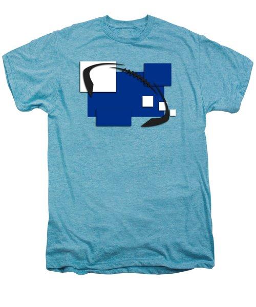 Indianapolis Colts Abstract Shirt Men's Premium T-Shirt by Joe Hamilton