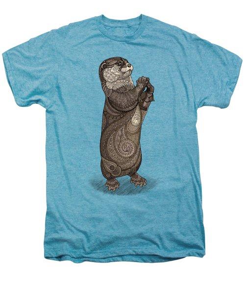 Infatuated Otter Men's Premium T-Shirt by ZH Field