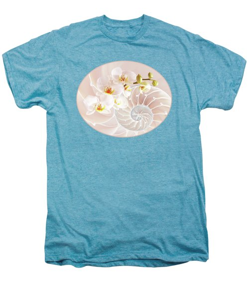 Intimate Fusion In Soft Pink Men's Premium T-Shirt by Gill Billington