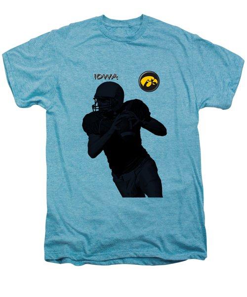 Iowa Football  Men's Premium T-Shirt by David Dehner